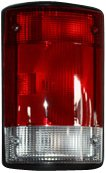 TYC 11-5008-01 Compatible with Ford Driver Side Replacement Tail Light Assembly