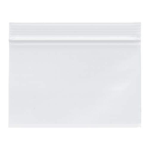 "Plymor Heavy Duty Plastic Reclosable Zipper Bags, 4 Mil, 6"" x 4"" (Pack of 200)"