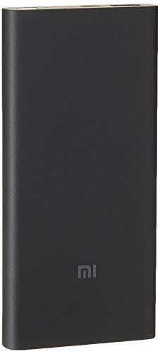Xiaomi Externer Akku MI kabellos Power Bank Essential schwarz - 10000 mAh - QI 10 W - 18 W mit Kabel - Micro USB Eingang - USB Ausgang, VXN4295GL
