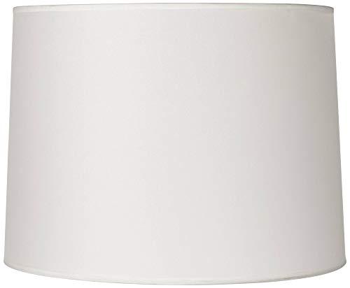 Hardback White Medium Drum Lamp Shade 13