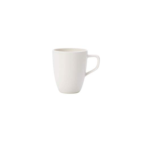 Villeroy und Boch - Artesano Original Mokka-/ Espressotasse, schlichte Tasse in klassischem weiß aus Premium Porzellan, spülmaschinenfest, 100 ml