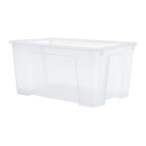 """IKEA \""""SAMLA\"""" Box 45 Liter Aufbewahrungsbox"""