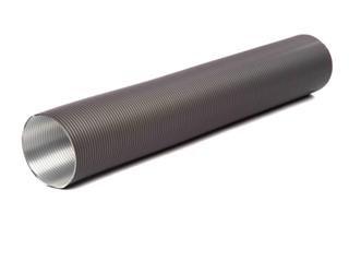 Flexibles Lüftungsrohr aus Aluminium Ø60mm grau
