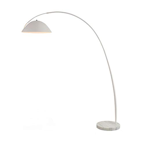 Lámparas de Pie Lámpara de Piso Luz de Pie Lámpara de pie de arco contemporánea de 12 W, lámpara de pie con base de mármol, luz de pie colgante para sala de estar, dormitorio, oficina Lámparas de pie