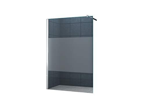 10 millimetri Cabina doccia Dusseldorf Cover 140 x 200 cm vetro trasparente con striscia / Walk-In Cabina doccia doccia parete doccia da parete divisoria
