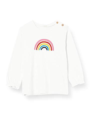 United Colors of Benetton T-Shirt M/L Túnica de enfermería, Snow White 074, 56 cm para Bebés