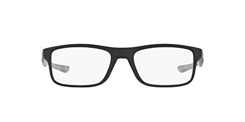 Oakley Unisex-Erwachsene 0OX8081 Brillengestelle, Blau (Satin Black), 51
