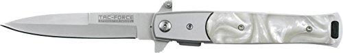 Tac-Force Taschenmesser Spear Point Klinge Heller Perlenmutter II, TF-428S