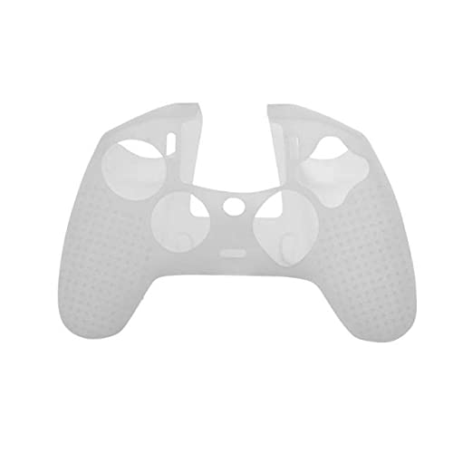 Davitu Electronics Video Games Replacement Parts & Accessories - Gaming pad Cover Silicone Joystick Game Handle Case Cover for PS4 Nacon Revolution Pro Controller 2 V2 Gamepad - (Color: White)