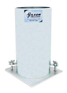 Gilson Steel Concrete Test Cylinder Mold, 6x12in