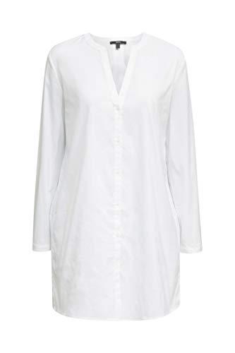 ESPRIT Collection Long-Bluse mit Henley-Ausschnitt
