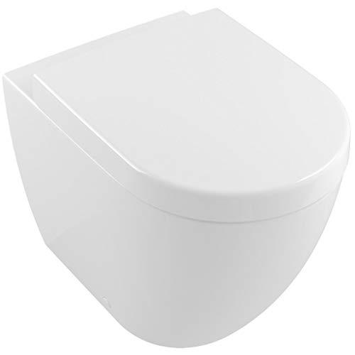 Villeroy & Boch Subway 2.0 washdown WC vloer staand 5602R0 370x560mm, zonder rand, Kleur: Wit - 5602R001
