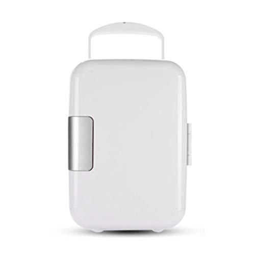 RUIVE Mini Refrigeradores para Oficina, Mini Refrigerador y Calentador Pequeño, 4 litros - 6 Latas, Compacto, Portátil y Silencioso