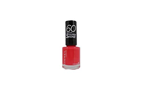 Rimmel London Super Shine 60'' Nagellack 8 ml Strawberry Shock