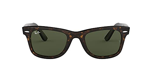 Ray-Ban MOD. 2140, Gafas de Sol Unisex, Marrón (Marrón Havana/Verde 902), 54 mm