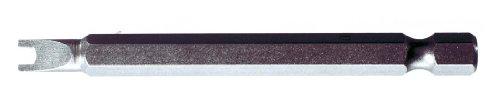 """KS Tools 911.7523-1/4\""""bits CLASSIC ranura de seguridad, 75 mm, 4 mm"""