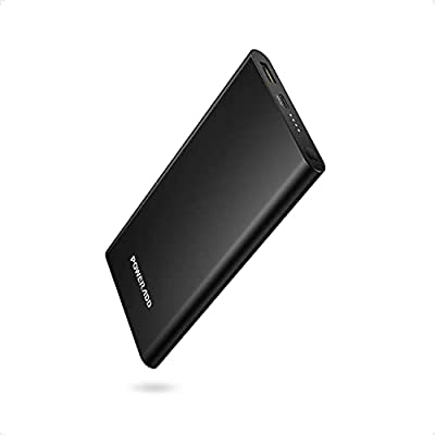 Poweradd PD 10000mAh Fast Charge Portable Charger USB-C Power Delivery (18W)Ultra Slim Power Bank for iPhone 11, 11 Pro, 11 Pro Max, Airpods, iPad, Samsung, Huawei, most other Phones and Tablets-Black