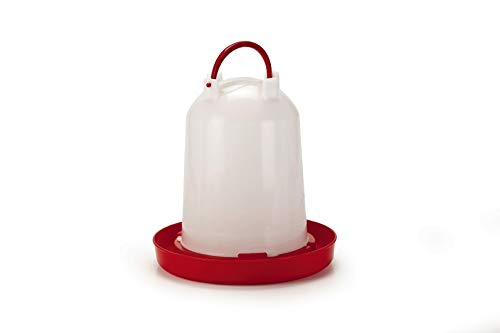 Hühnertränke Kükentränke Geflügeltränke Stülptränke 6 Liter