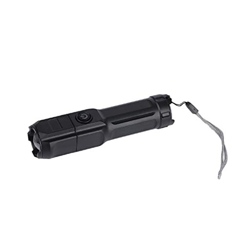 Amagogo Linternas Resistentes al Agua, Linterna LED S1000 - Alto Lumen, 5 Modos, con Zoom, luz de Mano para Camping, Emergencia, Senderismo al Aire Libre,