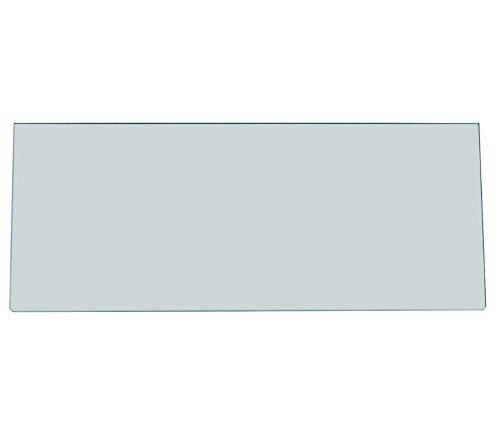 Glasplatte für Gemüsefach Kühlschrank 476 x 195 x 4 mm Zanussi 224906410/2