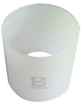 ANGOPE Cristal para Luz Camping - Medidas 80 x 80 - Repuestos Lamparas de Gas para Camping