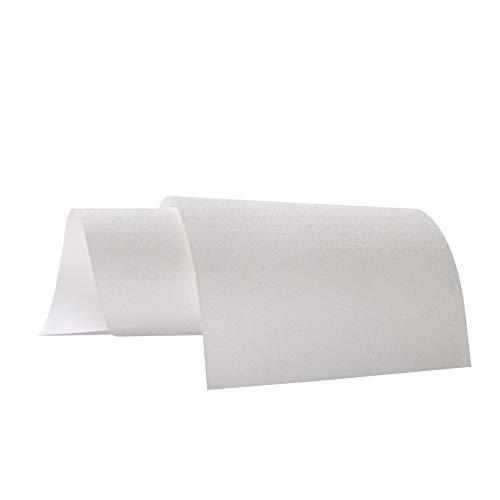 rycnet Dickes PVC-rutschfestes, transparentes Skateboard-Schleifpapier für langes Brett, 84 cm x 24 cm