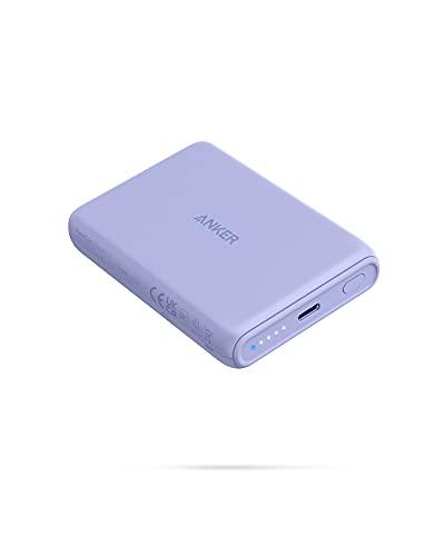 Anker PowerCore Magnetic 5K Wireless Kabellose Powerbank mit 5,000mAh und USB-C Ladekabel, Design...