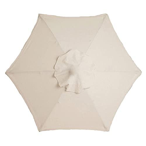 POHOVE Formosa Covers - Parasol de repuesto para sombrilla de 8 costillas para exteriores, para patio, mercado de patio, toldo de repuesto