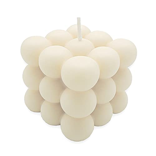 Bubble Candle aus Rapswachs, Handmade in Germany