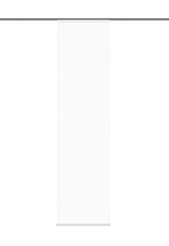 Home fashion 87802-701 weiß Schiebevorhang