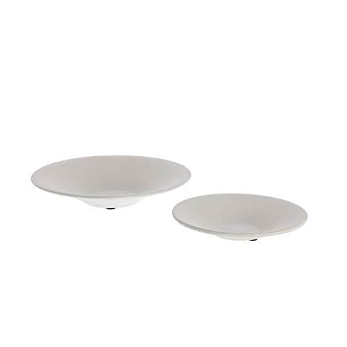 Kave Home - Juego de 2 platos de centro de mesa