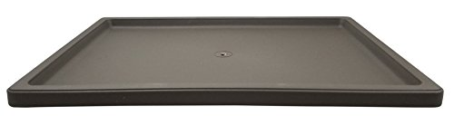 Plastic Rectangle Bonsai Drip & Humidity Tray - Brown (1, L-139, 13.25' x 9.5')