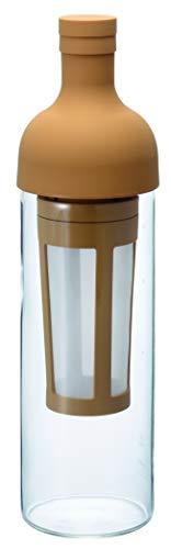 """Hario \""""Filter in Coffee Bottle\"""" Kaffeebereiter für Coldbrew / kaltgebrühten Kaffee (beige)"""