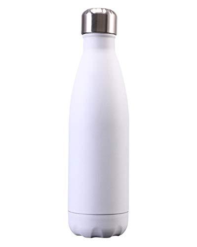 Taza con Aislamiento de Viaje, Botella de Acero Inoxidable con Aislamiento al Vacío Termostático Taza de La Botella de Isoterma Taza con Aislamiento,Color 6,500ml