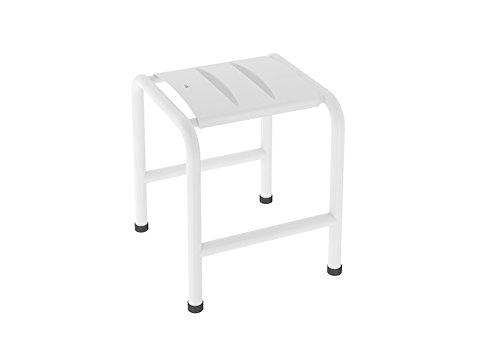 Roca A816914009 Comfort-Taburete, Blanco, 57x33.5x55 cm