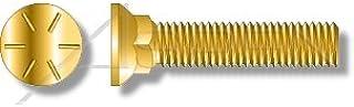 Flat Head Plow Bolts Grade 8 Steel 125 pcs Full Thread Plain 3 Head 1//2-13 X 2-3//4