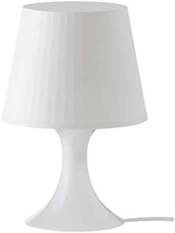 Ikea Lampada da Tavolo, Bianco, 19 x 19 x 15 cm