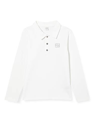 Tuc Tuc Polo Punto BÁSICOS BEBÉ Camisa, Blanco, 3A para Niños
