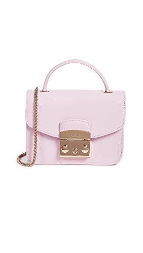 FURLA borsa donna a mano tracolla nuova originale Metropolis rosa