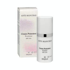 Crema facial día Protectora Anti-manchas FPS 50+ todo tipo de pieles