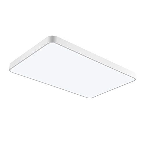 Papasbox LED Deckenleuchte, LED Panel Deckenlampe 48W, 4800lm, Warmweiß (3000K), IP44 Deckenleuchte Ideal für Schlafzimmer Küche Wohnzimmer Balkon