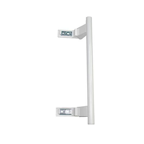 Türgriff weiß, Stangenform, Hebelgriff, eingesetzt in Kühlgeräten, Gefriergeräten und Kühl-/Gefrierkombinationen