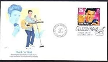 Rock n Roll Elvis Presley First Day Cover Cachet; 1993 Celebration 29c FDC #2724