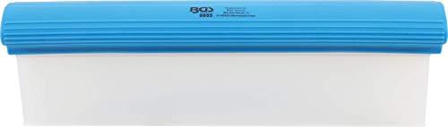 BGS 8855 | Silikon-Wasserabzieher | 300 mm | flexibler Abzieher für Bad, Autowäsche, Fenster etc.