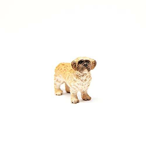 SCHLEICH 13931 Figurine Shih Tzu Maltese Figur, Mehrfarbig