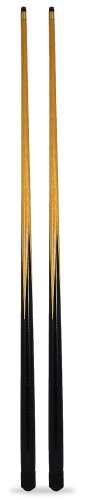 2 x 36 inch pool / snooker cues + 6 tips; ideal 1st cue for child or for tight spots around home tables by SGL