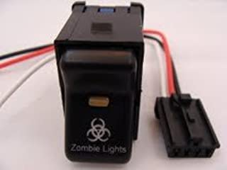 GCD Jeep 1997-2006 TJ Rocker Switch- Zombie Lights Logo