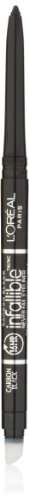 L'Oreal Infallible Never Fail Eyeliner, Carbon Black [591], 0.008 oz