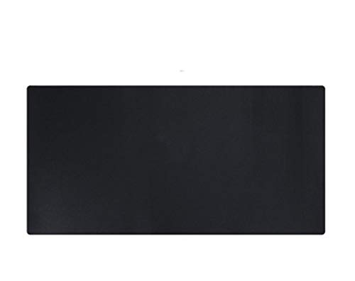 LLYTX Umweltfreundliche lederne Tischmatte Bürotischmatte Mauspad Hotel Western Restaurant Isoliermatte, schwarz