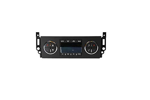 ACDelco 15-74023 GM Original Equipment Heating and Air Conditioning Control Panel with Rear Window Defogger Switch